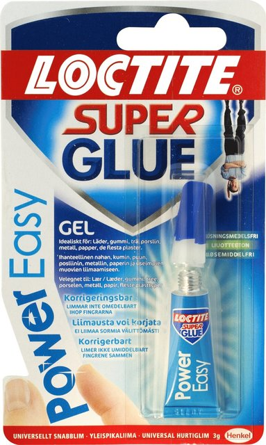 Lim Loctite Super Power Easy gel 3g