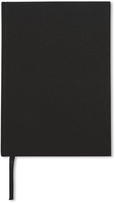 Anteckningsbok A5 linjerad svart 1