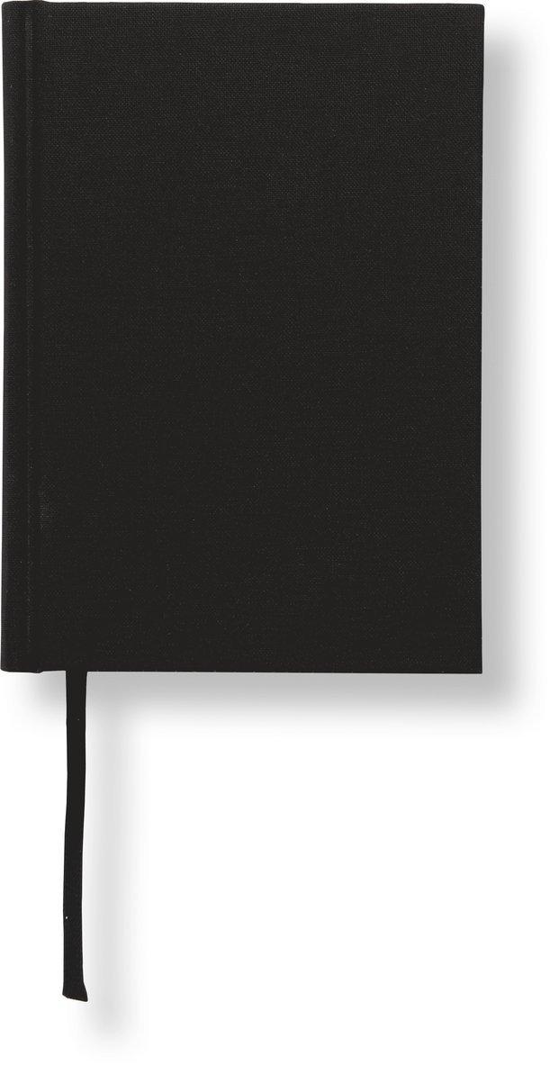 Anteckningsbok A6 linjerad svart 1