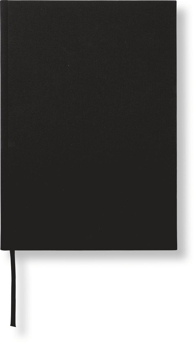 Anteckningsbok A4 linjerad svart 1