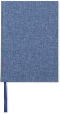 Anteckningsbok A5 olinjerad jeansblå