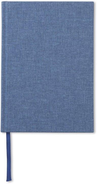 Anteckningsbok A5 olinjerad jeansblå 1