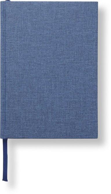 Anteckningsbok A5 linjerad jeansblå 1