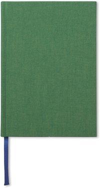 Anteckningsbok A5 olinjerad äppelgrön