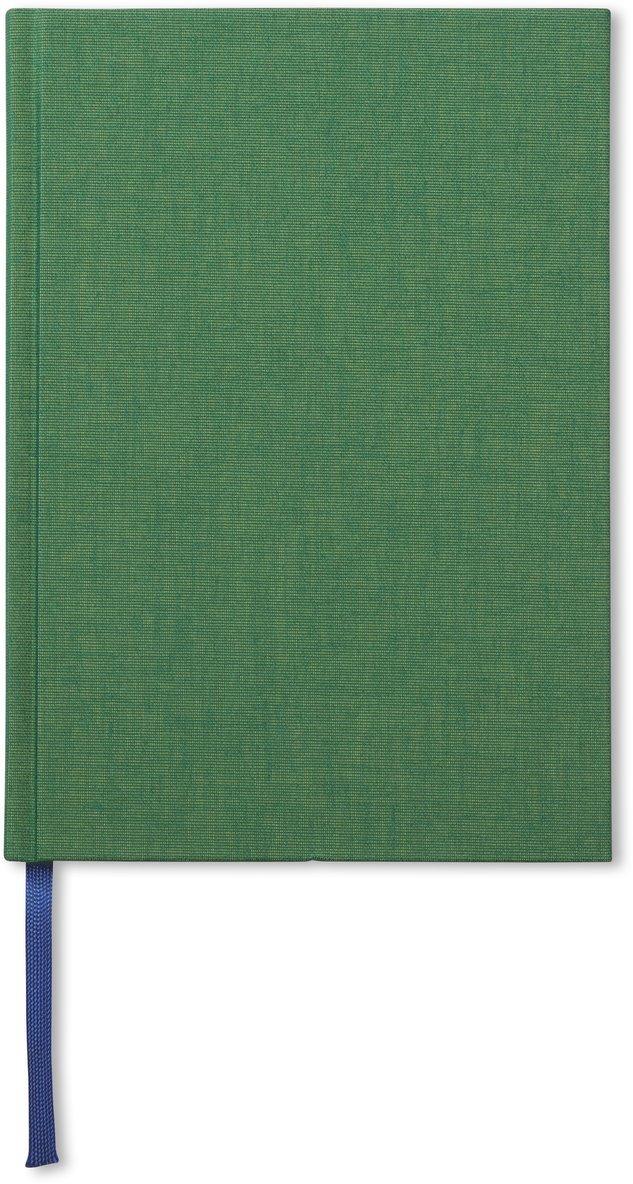 Anteckningsbok A5 olinjerad äppelgrön 1