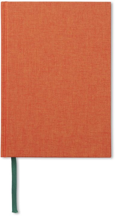 Anteckningsbok A5 olinjerad orange 1