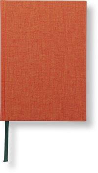Anteckningsbok A5 linjerad orange
