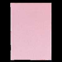 Anteckningsbok A5 linjerad rosa