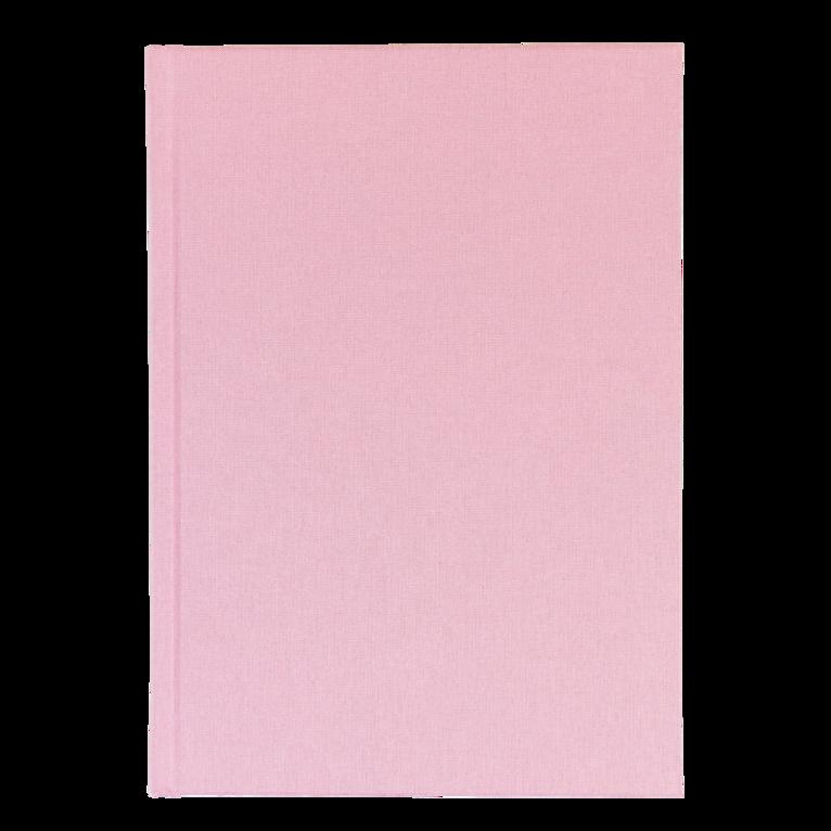 Anteckningsbok A5 linjerad rosa 1