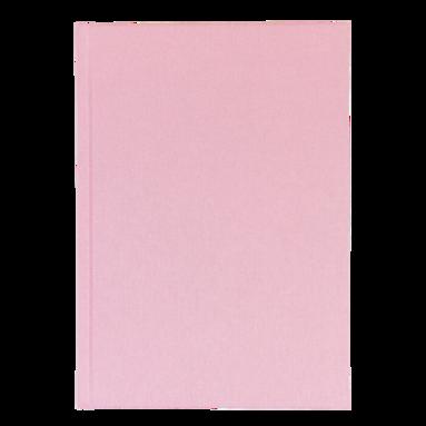 Anteckningsbok A5 olinjerad rosa