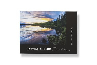 Pussel 1000 bitar Mattias A. Klum Vindelälven  1