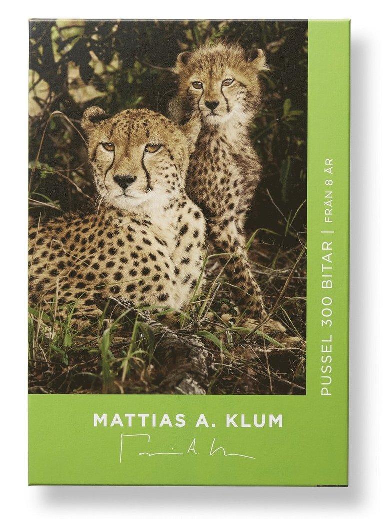 Pussel 300 bitar Mattias A. Klum gepard 1