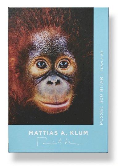 Pussel 300 bitar Mattias A. Klum orangutang 1