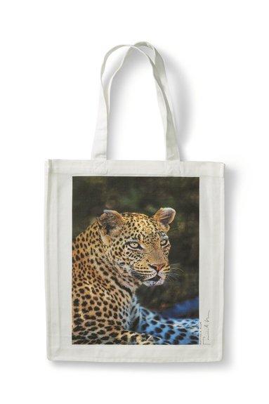 Tygkasse Mattias A. Klum leopard 1