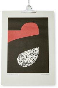 Print Swedishy Poetry 50x70cm