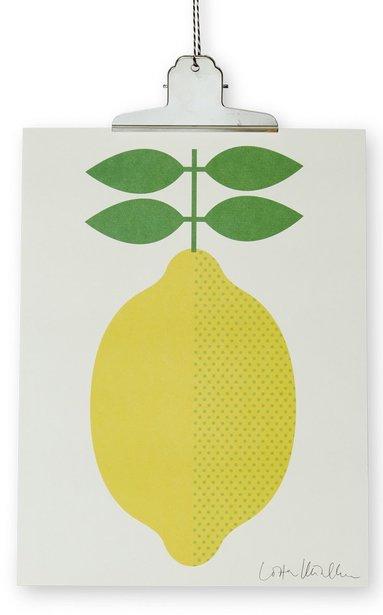 Print Citron 30x40cm