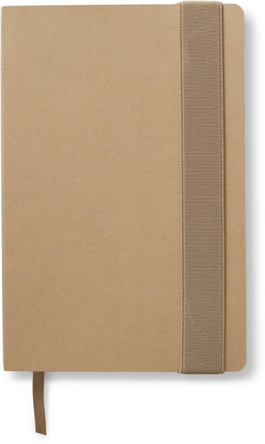 Anteckningsbok linjerad kraft Beige