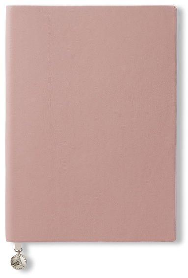 Anteckningsbok A5 linjerad mjuk pärm, rosa