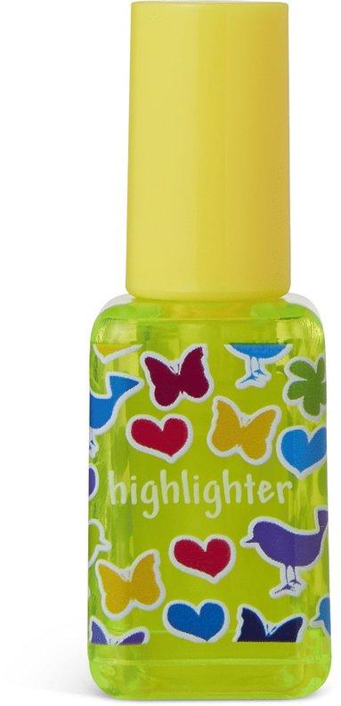 Överstrykningspenna nagellack gul 1