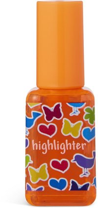 Överstrykningspenna nagellack orange