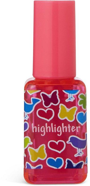 Överstrykningspenna nagellack rosa 1