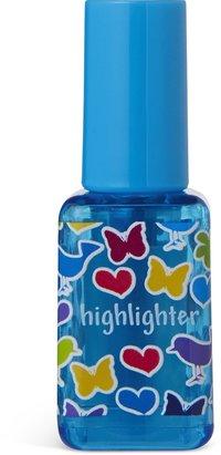 Överstrykningspenna nagellack blå