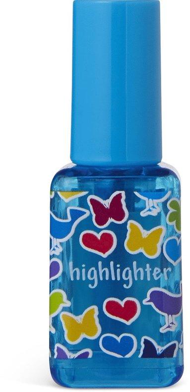 Överstrykningspenna nagellack blå 1