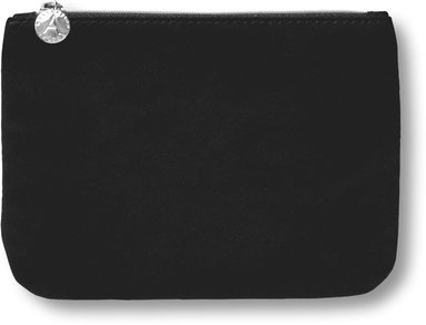 Fodral 16x12cm textil svart