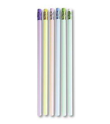 Blyertspenna 6-pack pastellfärger 1
