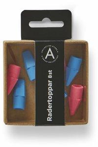 Radertopp 8-pack blå/rosa