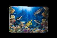 Skrivbordsunderlägg 3D World havet