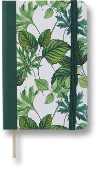 Anteckningsbok A6 linjerat gröna blad