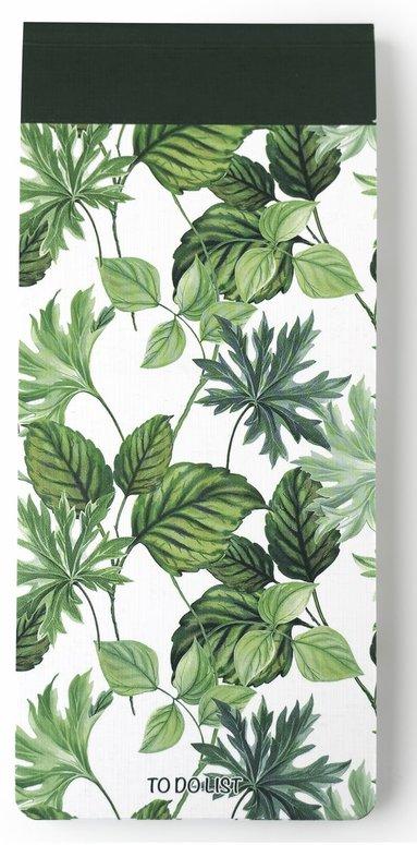 Att göra-lista 22x10cm gröna blad