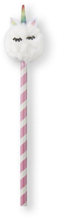 Blyertspenna pom-pom enhörning