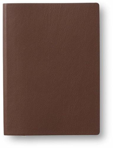 Anteckningsbok A6 linjerad mjuk pärm cognac 1