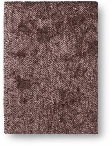 Anteckningsbok 14x20cm mjuk pärm sammet brun 1