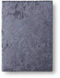 Anteckningsbok 14x20cm mjuk pärm sammet grå