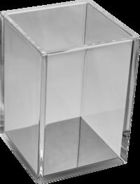 Pennburk akryl transparent svart
