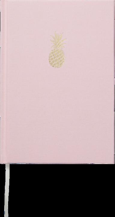 Anteckningsbok A5 Ananas rosa 1