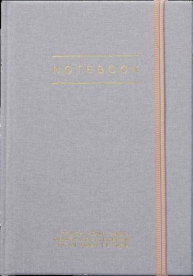 Anteckningsbok A5 grå 1