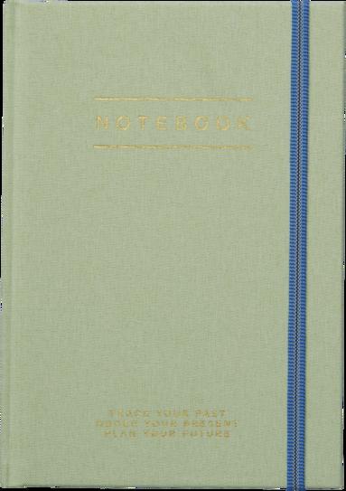 Anteckningsbok A5 grön 1
