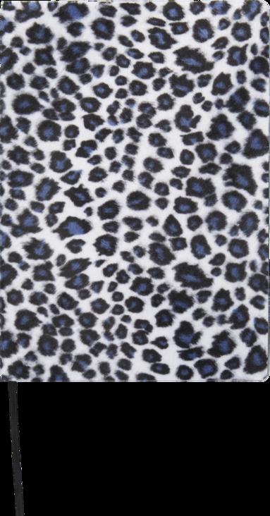 Anteckningsbok A5 Leopard svart 1