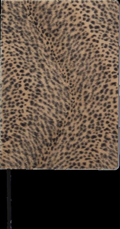 Anteckningsbok A5 Leopard brun 1