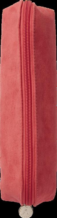 Pennfodral textil rosa