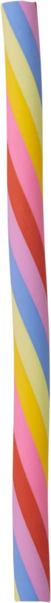 Radergummi långt regnbåge