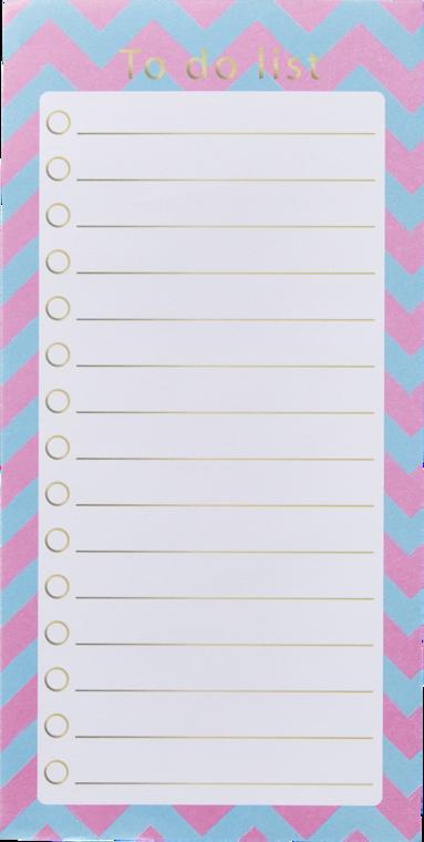 Att göra-lista rosa/blå