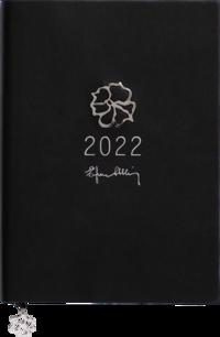 Kalender 2022 A5 Eden Efva Attling svart