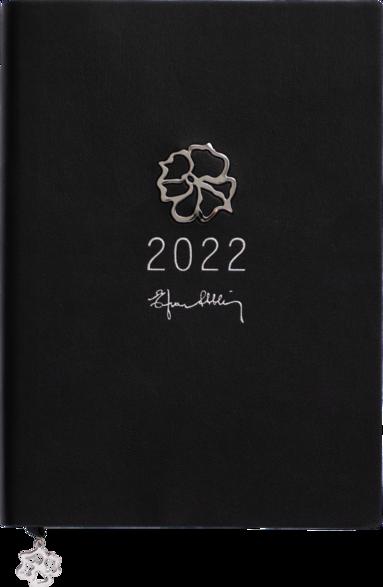 Kalender 2022 A5 Eden Efva Attling svart 1