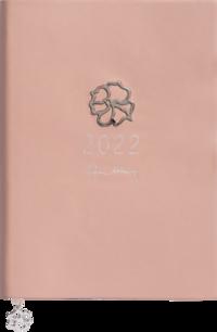 Kalender 2022 A5 Eden Efva Attling rosa