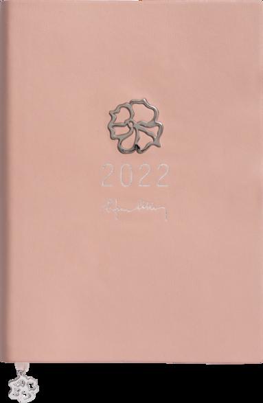 Kalender 2022 A5 Eden Efva Attling rosa 1